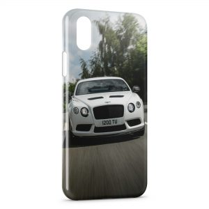 Coque iPhone XS Max Bentley Continental GT3-R 2015 Voiture