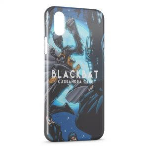 Coque iPhone XS Max Blackbat Cassandra Cain