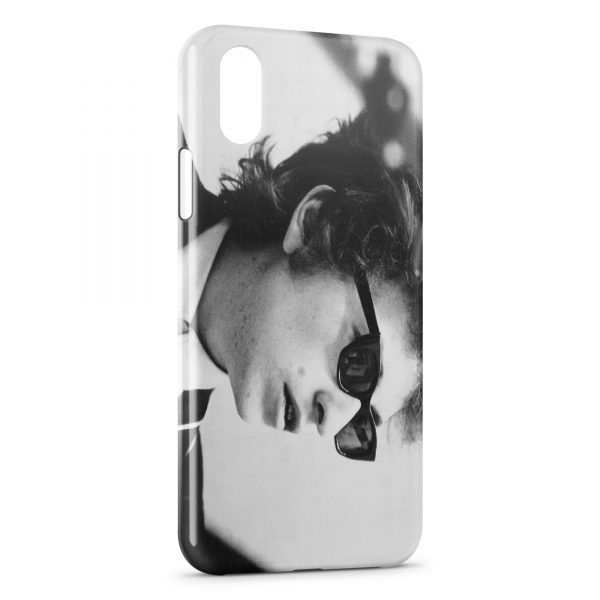 Coque iPhone XS Max Bob Dylan 2