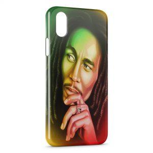 Coque iPhone XS Max Bob Marley 2