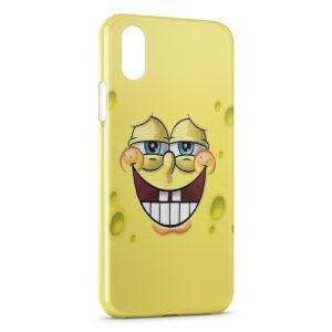 Coque iPhone XS Max Bob l'eponge 5
