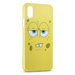 Coque iPhone XS Max Bob l'eponge 6