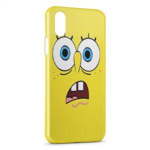 Coque iPhone XS Max Bob l'eponge 7
