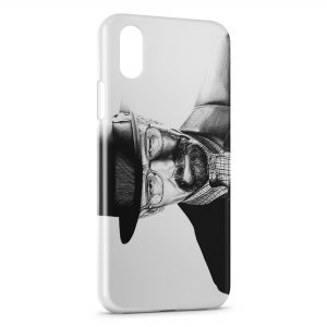 Coque iPhone XS Max Breaking Bad Heinsenberg 5