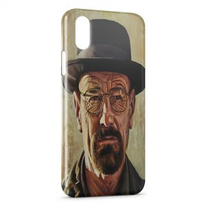 Coque iPhone XS Max Breaking Bad Heinsenberg 6