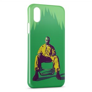 Coque iPhone XS Max Breaking Bad Walter White Heisenberg 5
