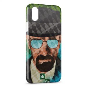 Coque iPhone XS Max Breaking Bad Walter White Heisenberg 6
