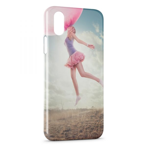 Coque iPhone XS Max Bubble Gum & Girl