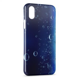 Coque iPhone XS Max Bubbles under water