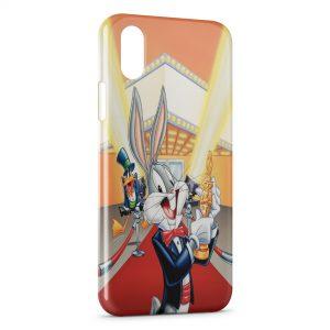 Coque iPhone XS Max Bugs Bunny Oscar