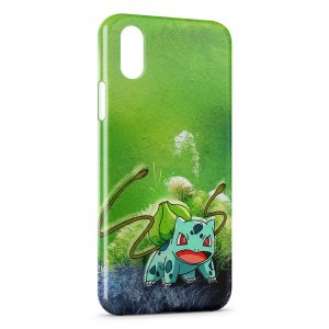Coque iPhone XS Max Bulbizarre Pokemon 2