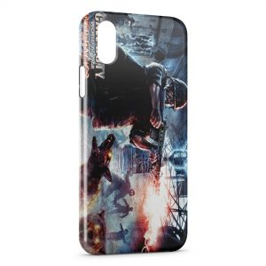 Coque iPhone XS Max Call Of Duty World At War Zombie Dog Nazi