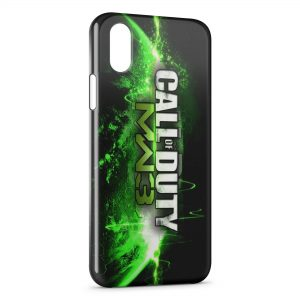 Coque iPhone XS Max Call of Duty MW3