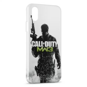 Coque iPhone XS Max Call of Duty Modern Warfar 3