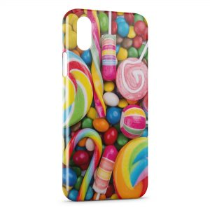 Coque iPhone XS Max Candy Gourmandises & Bonbons