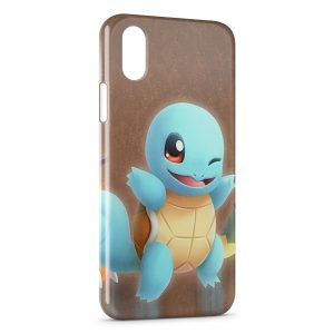Coque iPhone XS Max Carapuce Pokemon