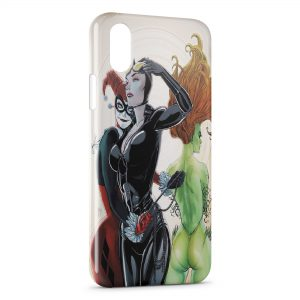 Coque iPhone XS Max Catwoman & Joker Girl