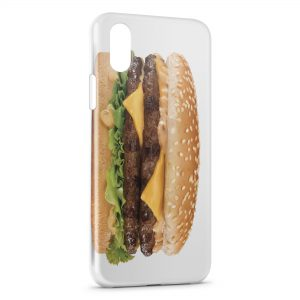 Coque iPhone XS Max Cheeseburger