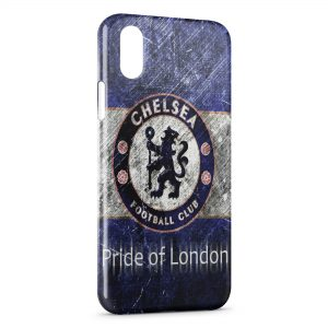 Coque iPhone XS Max Chelsea FC Pride of London