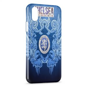 Coque iPhone XS Max Chelsea Football