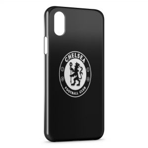Coque iPhone XS Max Chelsea Football Club Foot