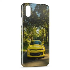 Coque iPhone XS Max Chevrolet Voiture