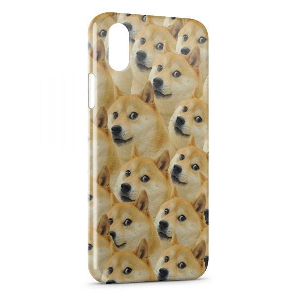 coque iphone xs max chien