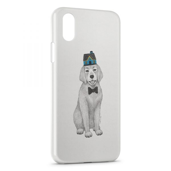 Coque iPhone XS Max Chien Style Design