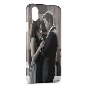 Coque iPhone XS Max Christian Grey Anastasia 50 Nuances de Grey