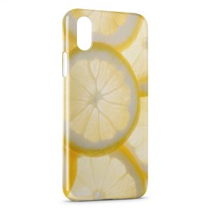Coque iPhone XS Max Citron Lemon