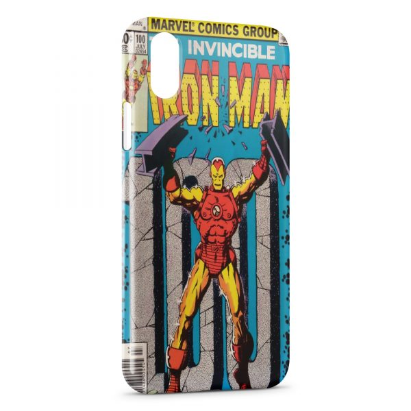 coque iron man iphone xs max