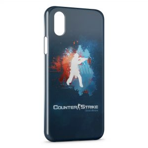Coque iPhone XS Max Counter Strike