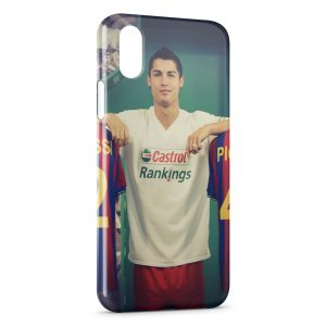 Coque iPhone XS Max Cristiano Ronaldo Football 32