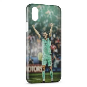 Coque iPhone XS Max Cristiano Ronaldo Football 52