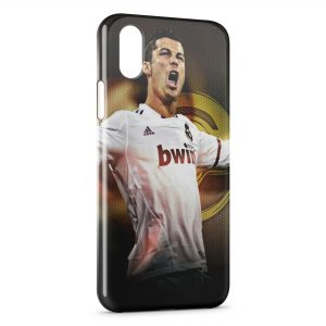Coque iPhone XS Max Cristiano Ronaldo Real Madrid CF Football