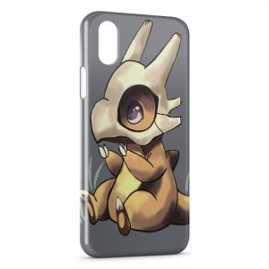 Coque iPhone XS Max Cubone Pokemon 22