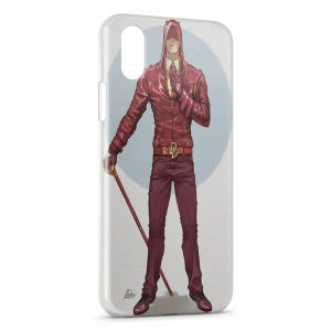 Coque iPhone XS Max Daredevil Design Art