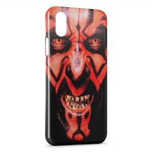 Coque iPhone XS Max Dark Maul Star Wars
