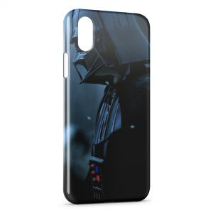 Coque iPhone XS Max Dark Vador Black Star Wars