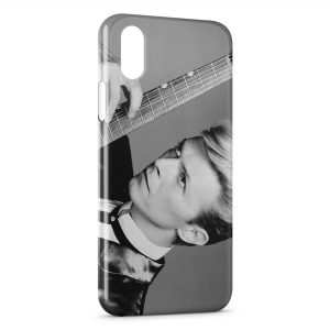 Coque iPhone XS Max David Bowie 2