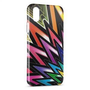 Coque iPhone XS Max Design Stars Etoiles