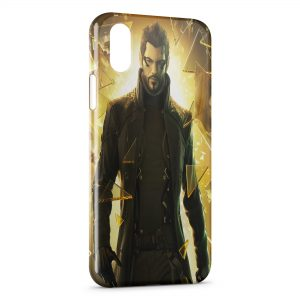 Coque iPhone XS Max Deus Ex Human Revolution Game
