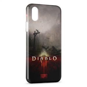 Coque iPhone XS Max Diablo 3