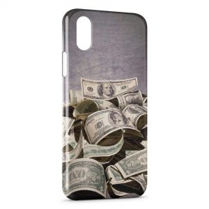 Coque iPhone XS Max Dollars Style