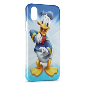 Coque iPhone XS Max Donald Duck Dessins animés