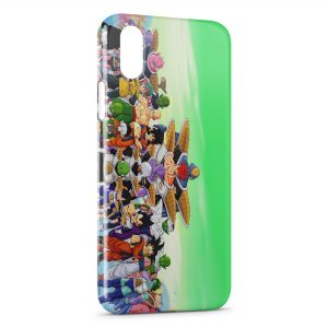 Coque iPhone XS Max Dragon Ball Z Group 4