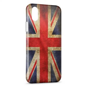 Coque iPhone XS Max Drapeau USA Etats-Unis