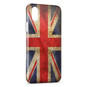 Coque iPhone XS Max Drapeau USA Etats-Unis