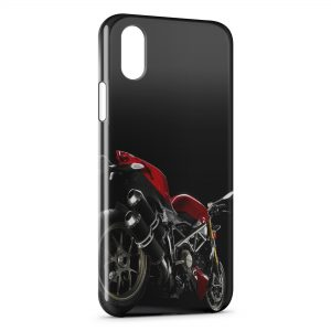 Coque iPhone XS Max Ducati Streetfighter Red Moto