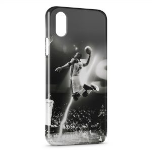 Coque iPhone XS Max Dunk Power Basketball